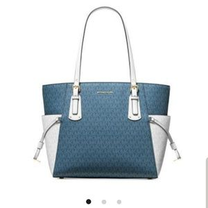 Brand Michael kors purse with brand matching walle
